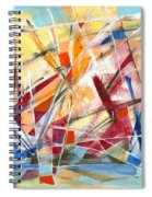 Refracted Dream Spiral Notebook