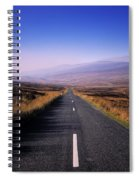 Regional Road In County Wicklow Spiral Notebook