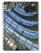 Reichstag Dome Spiral Notebook