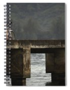 Relaxed Ride Hanalei Bay Spiral Notebook