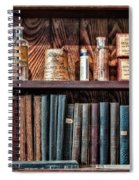 Remedies And Visiting List Spiral Notebook