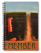Remember To Flush Poster Spiral Notebook