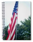 Remembering 9-11 Spiral Notebook