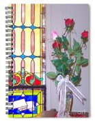 Remembering With Roses Spiral Notebook