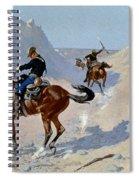 Remington: Guard, 1890 Spiral Notebook