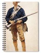 Remington: Soldier, 1901 Spiral Notebook