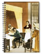 Rene Laennec, French Physician Spiral Notebook