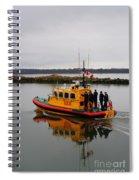 Rescue Boat Spiral Notebook