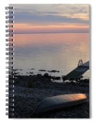 Restful Waters Spiral Notebook