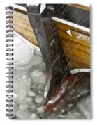 Resting In Ice Spiral Notebook