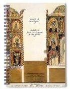 Retablo, 1816 Spiral Notebook