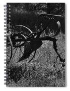 Retired Farmer Spiral Notebook