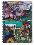 Retired In Color Spiral Notebook
