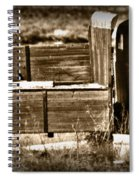 Retired Truck Spiral Notebook