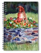 Retired Water Pump Spiral Notebook