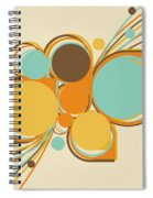 Retro Pattern Spiral Notebook