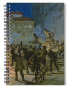 Revolution In Florence Spiral Notebook