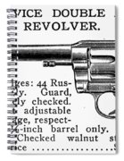 Revolver, 19th Century Spiral Notebook
