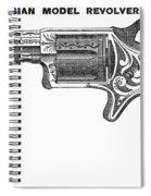 Revolver Ad, 1878 Spiral Notebook