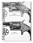 Revolvers, 19th Century Spiral Notebook