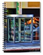 Revolving Doors Spiral Notebook