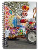 Rex Mardi Gras Parade IIi Spiral Notebook