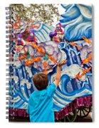 Rex Mardi Gras Parade Viii Spiral Notebook