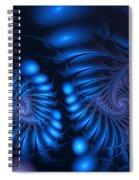 Rhapsody In Blue Spiral Notebook