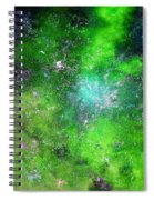 Rhapsody Of Stars In C Major  Spiral Notebook