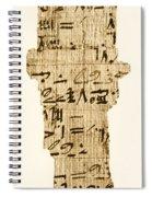 Rhind Papyrus Spiral Notebook