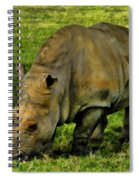 Rhinoceros 101 Spiral Notebook