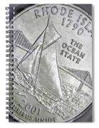 Rhode Island 2001 Spiral Notebook