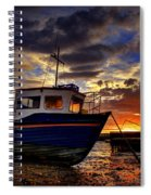 Rhos Sunrise Spiral Notebook