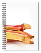 Rhubarb Spiral Notebook