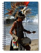 Rhythm Of The Ocean Spiral Notebook