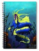 Ribbon Hippocampus Spiral Notebook