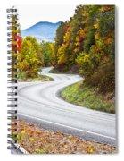 Ribbon Road Spiral Notebook