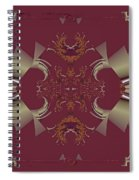Ribbons To Claws Spiral Notebook