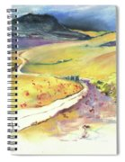 Ribera Del Duero In Spain 06 Spiral Notebook