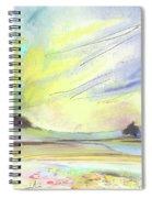 Ribera Del Duero In Spain 07 Spiral Notebook