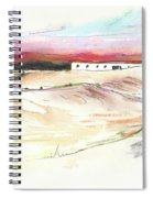 Ribera Del Duero In Spain 09 Spiral Notebook