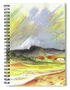 Ribera Del Duero In Spain 10 Spiral Notebook