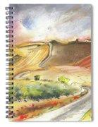 Ribera Del Duero In Spain 11 Spiral Notebook
