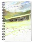Ribera Del Duero In Spain 15 Spiral Notebook