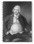 Richard Arkwright, English Industrialist Spiral Notebook