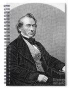 Richard Cobden (1804-1865). /nenglish Politician And Economist. Steel Engraving, English, 19th Century Spiral Notebook