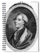 Richard Grenville-temple Spiral Notebook