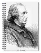 Richard Monckton Milnes Spiral Notebook