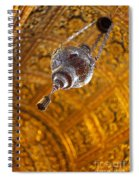Richly Decorated Ceiling Spiral Notebook