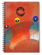 Ride A White Wave Spiral Notebook